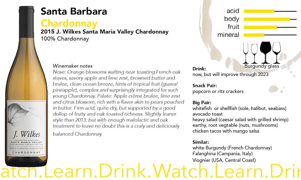J Wilkes Chardonnay