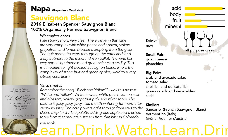 Elizabeth Spencer Sauvignon Blanc