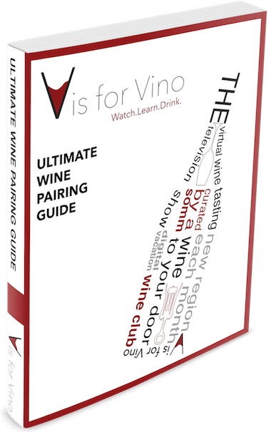 wine pairing guide cover