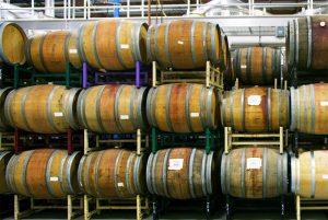 oak barrels for wine