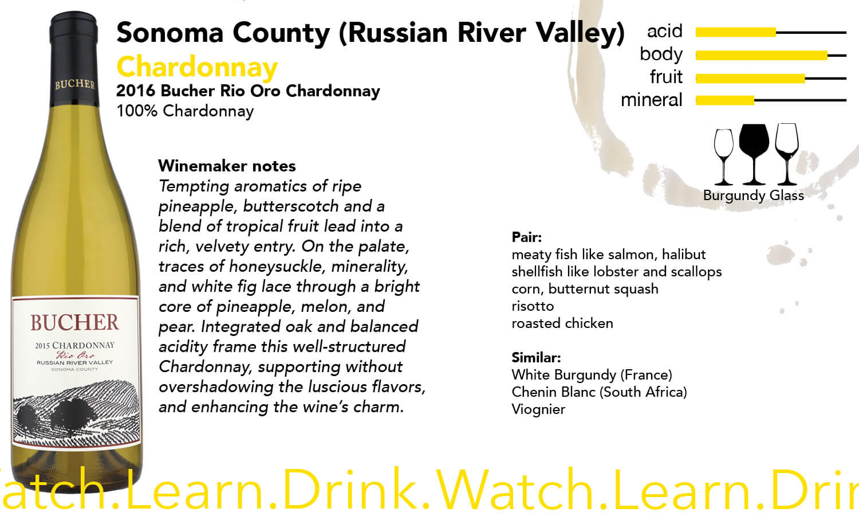 Sonoma County Bucher Chardonnay