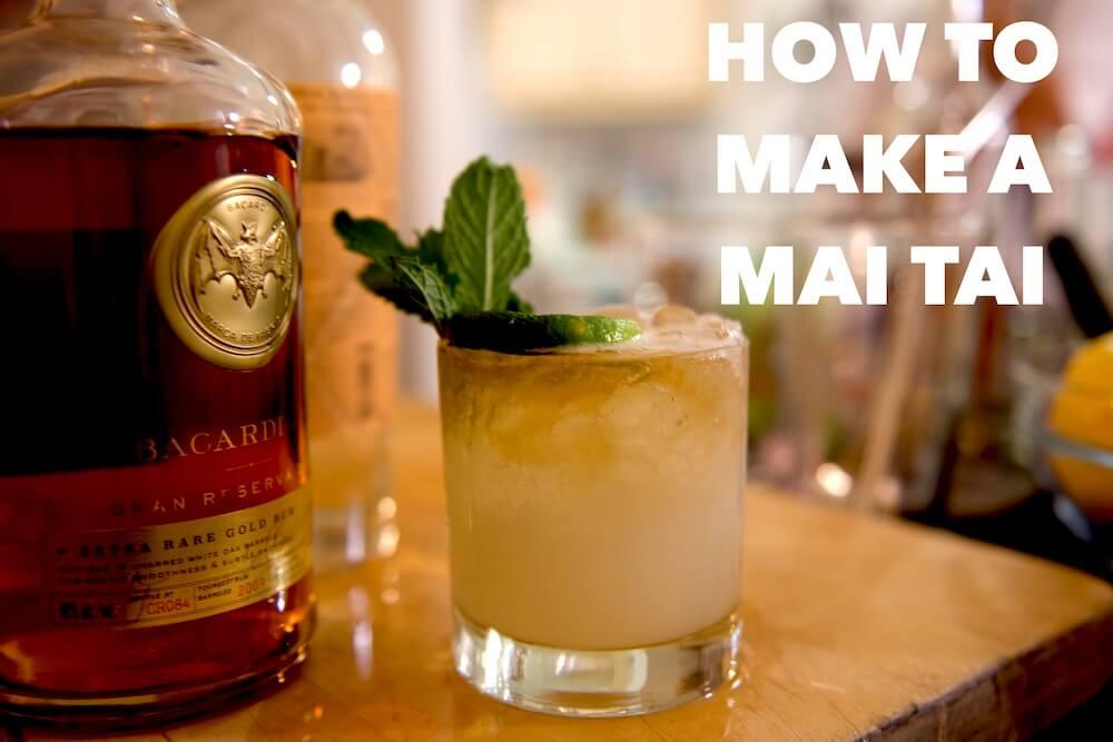 how to make a mai tai