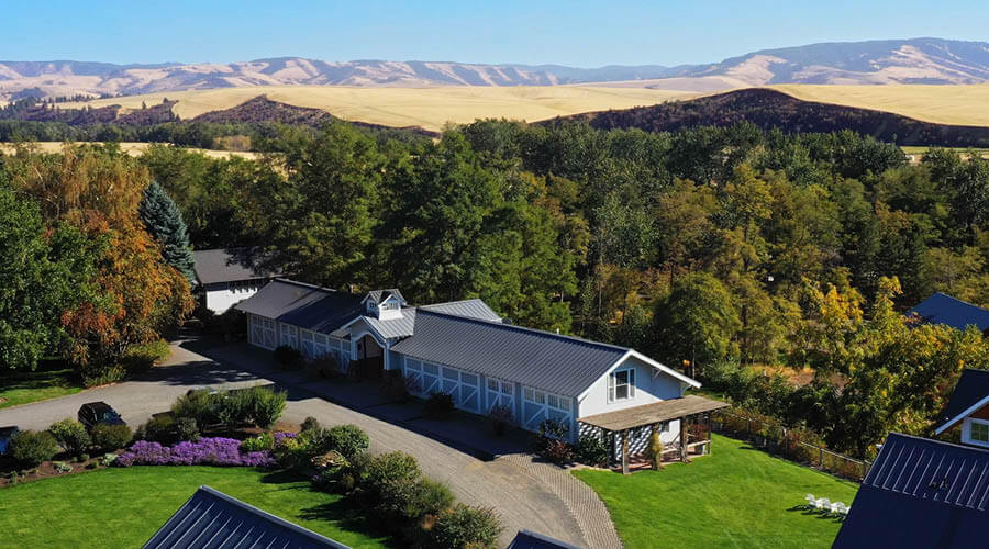 Abjea WInery and Inn in Walla Walla