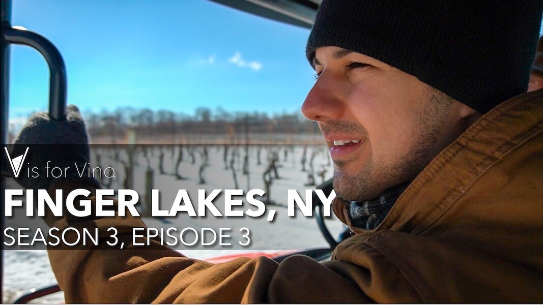 Finger Lakes New York Episode V is for Vino Wine Show